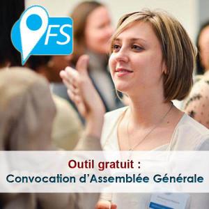 convocation à une assemblée générale