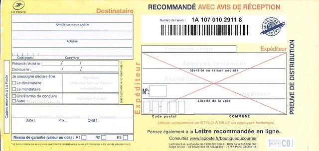 recommand lectronique free syndic services de copropri t et asl. Black Bedroom Furniture Sets. Home Design Ideas